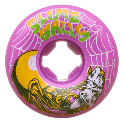 Santa Cruz Slime Balls Web Speed Balls 54mm 99A Wheels (Purple)