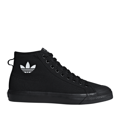 adidas Originals Nizza Hi Shoes - Core Black / Core Black / FTWR White