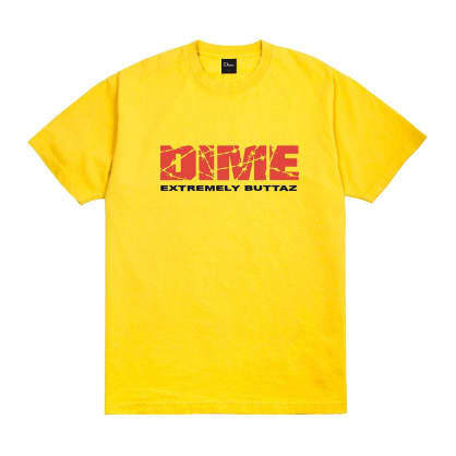 Dime Extremely Buttaz T-Shirt - Yellow
