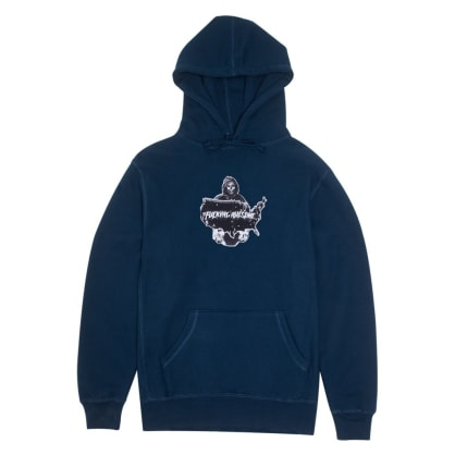 Fucking Awesome Reaper Hoodie - Navy