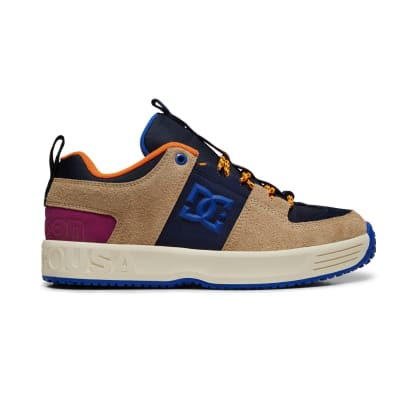 DC Shoes x Paterson Lynx OG Skate Shoe - Blue / Tan