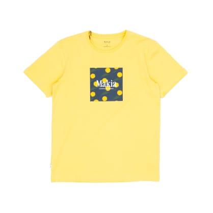 Makia Keltano T-Shirt - Yellow