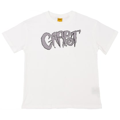Carpet Company Metal Tee White