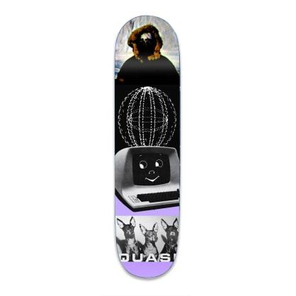 "Quasi Kraftwerk Two Skateboard Deck - 8.75"""