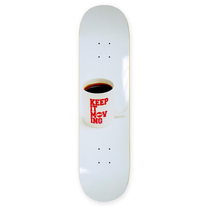Hopps- Keep It Moving Coffee Deck 8.25""