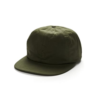 Polar Skate Co. Waxed Cotton Cap (Olive)