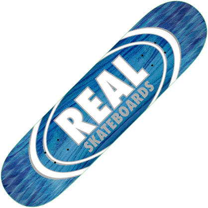 "Real Oval Patterns Team series deck (8.5"")"