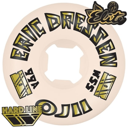 OJ Wheels 55mm Eric Dressen OJ2 Gold Elite Hardline 99a Skateboard Wheels