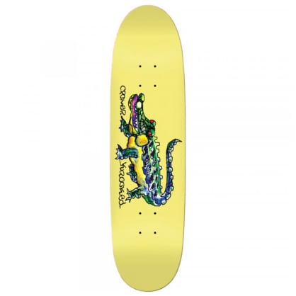 "Krooked Skateboards - Krooked - Cromer Gator (Lil Snuff) deck - 8.38"" Football Shape"