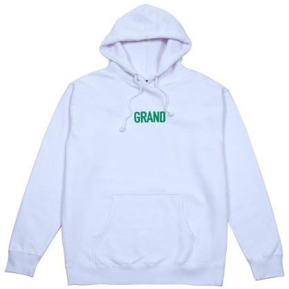Grand Collection Block Hoodie - White