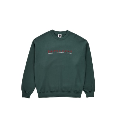 Polar Skate Co Cartwheel Crewneck - Grey Teal