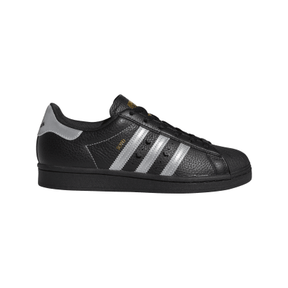 adidas Superstar ADV x Soto Skate Shoe - Core Black / Silver Met / Gold Met