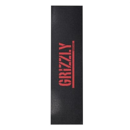 Grizzly Stamp Griptape Red