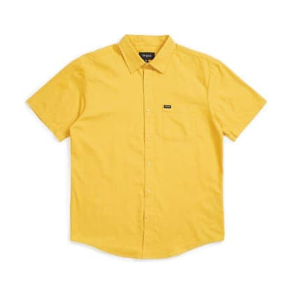 Brixton Charter Oxford Button Down Sunset Yellow