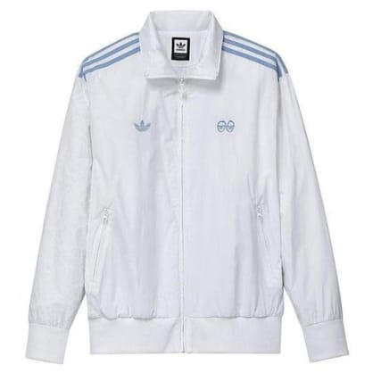 adidas x Krooked Tracksuit Top - White / Clear Blue