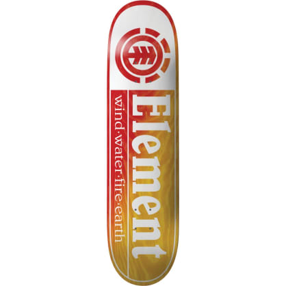"""Element - Section Yellow Red Deck (8.25"""")"""