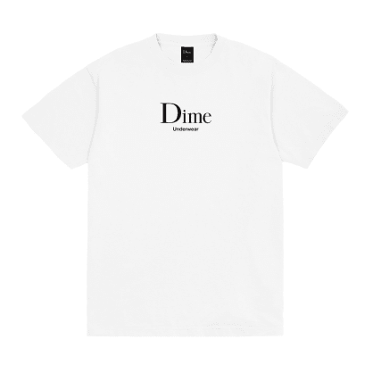 Dime Underwear T-Shirt - White