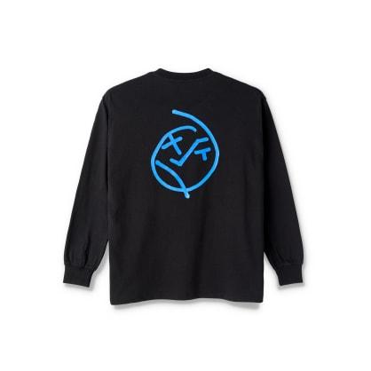 Polar Skate Co Big Boy Long Sleeve T-Shirt - Black