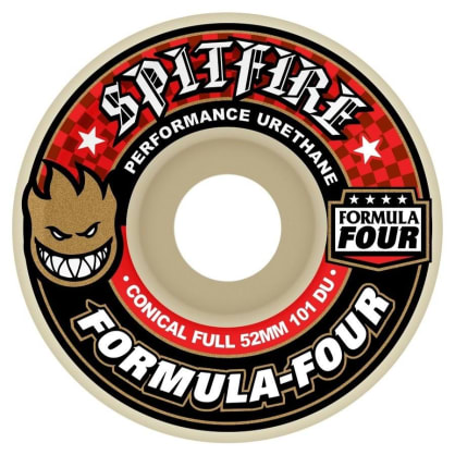 """SPITFIRE-""""FORMUAL 4 FULL CONICAL WHEELS""""(53MM)"""