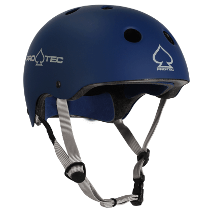 Pro Tec Classic Skate Certified Helmet Matte Blue