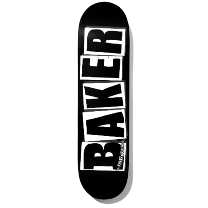 Baker Deck Brand Logo Black/White 8.12