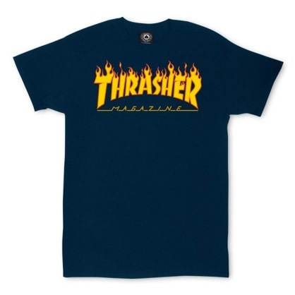 Thrasher - Flame Logo T Shirt