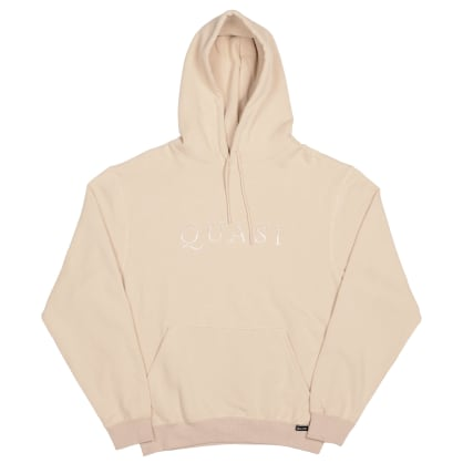 Quasi Wordmark Hood Sweater - Oatmeal