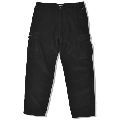 Pop Trading Company Corduroy Cargo Pants - Black