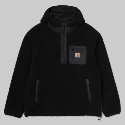 Carhartt WIP - Prentis Pullover Fleece Jacket - Black