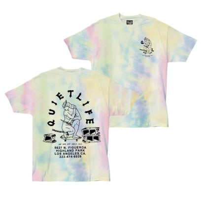 QUIET LIFE Kenny Shop Tee Tie Dye