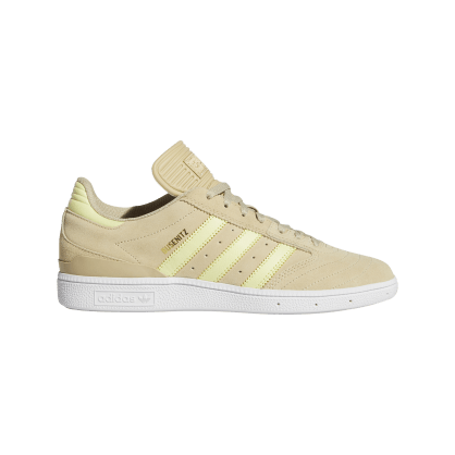 Adidas Busenitz Skate Shoes - Savannah / Yellow Tint / Cloud White