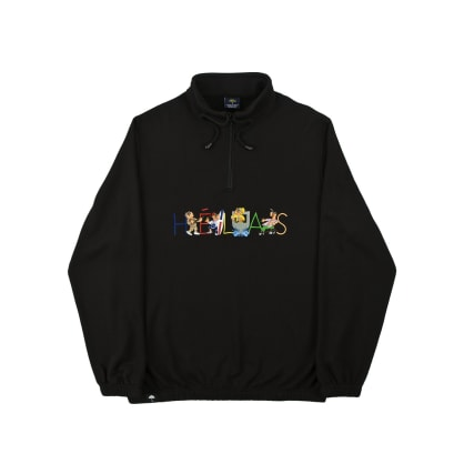 Helas - Summer Jam Quarter Zip Sweatshirt - Black