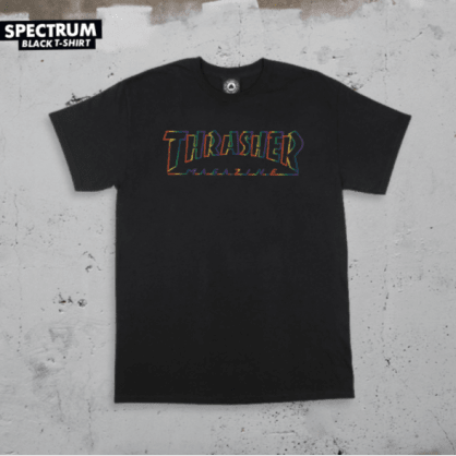 Thrasher - Spectrum T-Shirt - Black