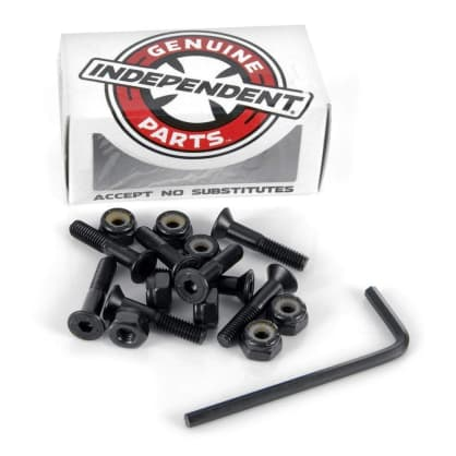 Indy Bolts Allen Black 1""