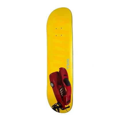 Alltimers Will Phone Skateboard Deck - 8.1""