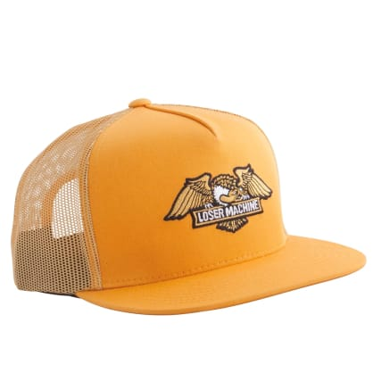 Loser Machine Wings Trucker Cap | Gold
