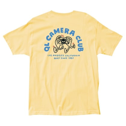 The Quiet Life Camera Hands Tee - Banana
