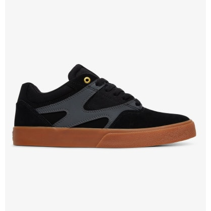 DC Kalis Vulc Skate Shoes - Black / Grey
