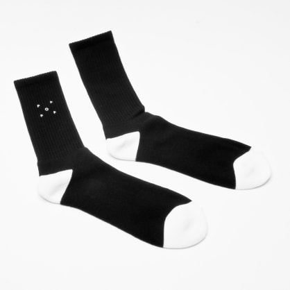 Pop Trading Company Sportswear Socks Black