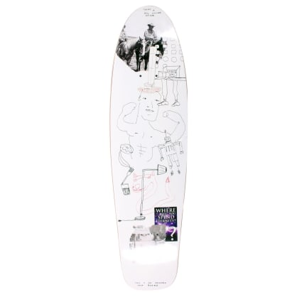Orchard Deck Sageman Smiling Dog Mini Cruiser Shape