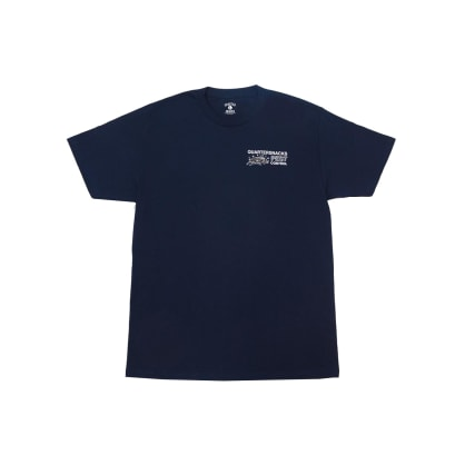 Quartersnacks - Pest Control Tee - Navy
