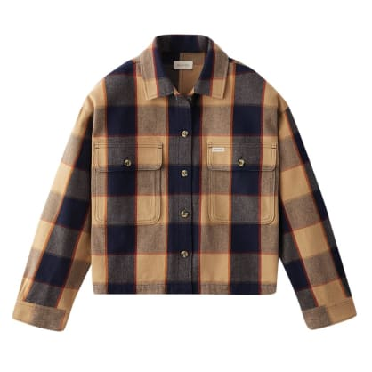 Bowery Flannel - Khaki