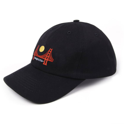 Magenta Skateboards - SF Dad Hat - Black