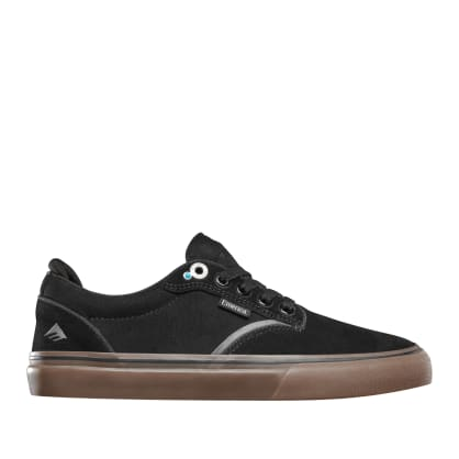Emerica Dickson Skate Shoes - Black / Gum