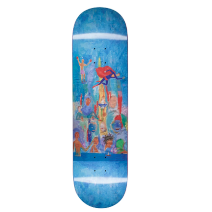 Fucking Awesome Heros Dill Painting Deck - 8.5""