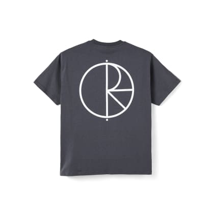 Polar Skate Co Stroke Logo T-Shirt - Graphite