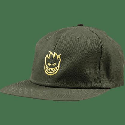 Spitfire Lil Bighead Strapback Hat Green - Yellow
