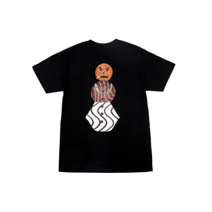 Quartersnacks - Classic Snackman Tee - Black