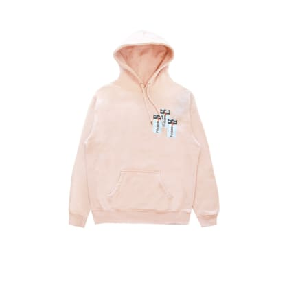Pink Dusty Rose Charge Hoodie