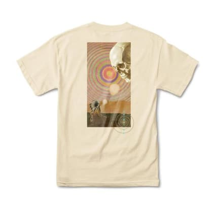 Primitive Spirit Plain T-Shirt - Cream